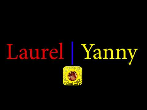 YANNY OR LAUREL LOOP 10 minute REPEAT VERSION AUDIO ILUSION PITCH FREQUENCY LAURAL OR YANNI REPEAT