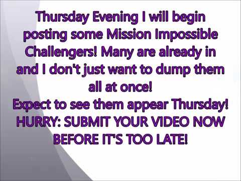 Mission Impossible Trumpet Challenge Videos will start to appear THURSDAY!