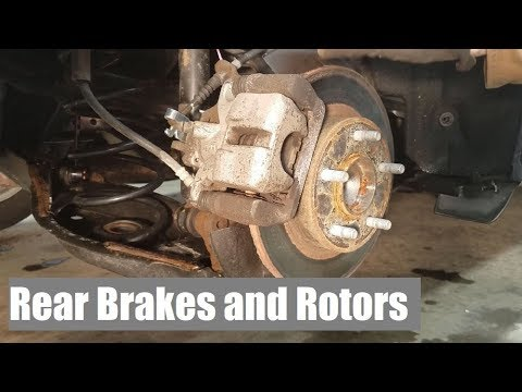 How To Change Rear Brakes Mazda 3