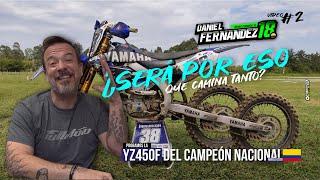 La YZ450F mas rápida de Colombia - La moto del actual campeón nacional MX1 MX2 en Colombia