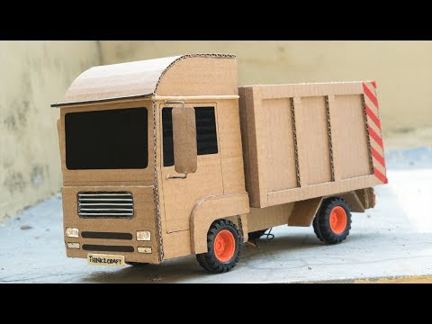RC Truck - How to make a Remote Control Truck at Home using Cardboard