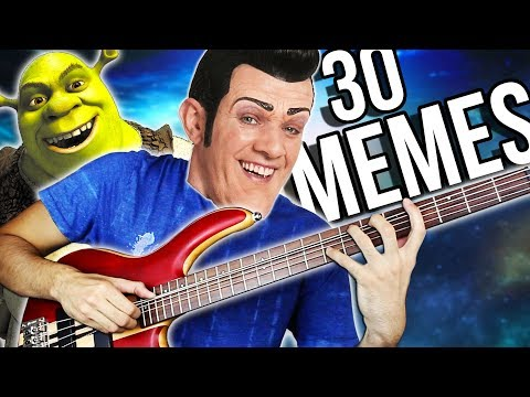 30 MUSIC MEMES in 2 MINUTES