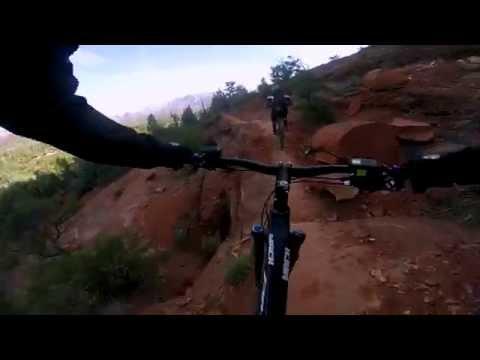 Extreme XC Mountain Biking - Mach Pivot 429 Carbon (GoPro Hero 3 Black Plus)