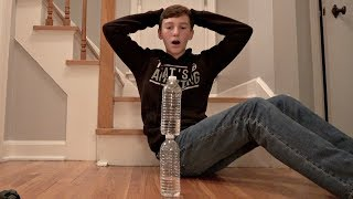 Water Bottle Flip Trick Shots 4 | That