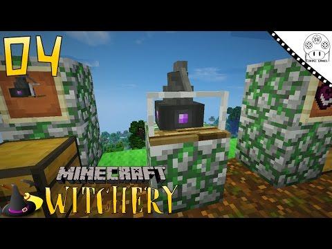 TUTORIAL WITCHERY - #4 DISTILLERY [MINECRAFT MOD WITCHERY]