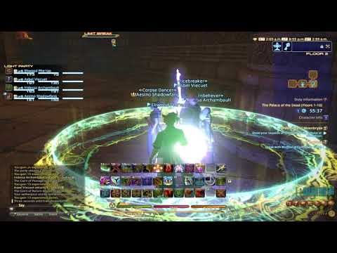 Final Fantasy XIV: Rey and Friends go through Palace of the Dead Part 1