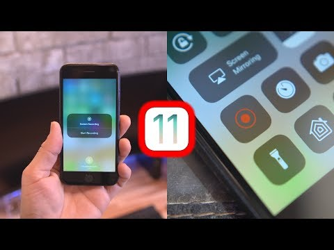 New iOS 11 Screen Recording Features!