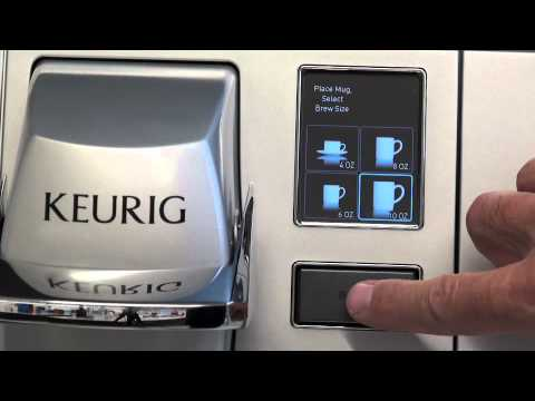 How to descale a Keurig® B155 Brewing System