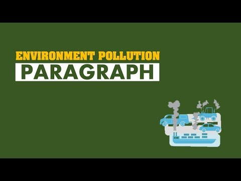 ENVIRONMENT POLLUTION PARAGRAPH (WITH PDF)
