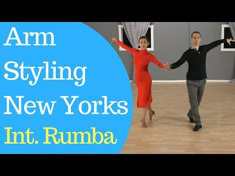 Arm Styling For New Yorks Rumba (International Style)