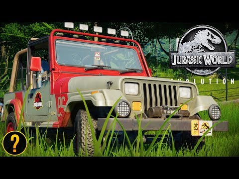 HOW TO UNLOCK THE 1993 JURASSIC PARK JEEP | Jurassic World: Evolution Guide