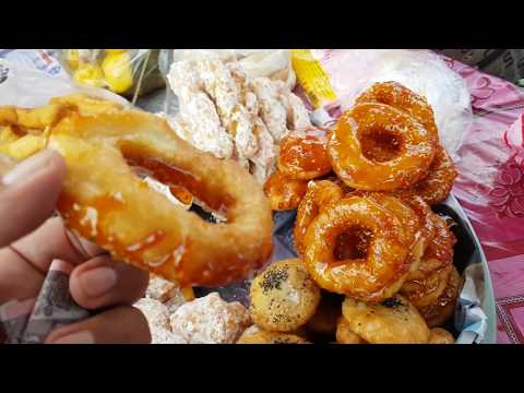 Cambodian sweet donut