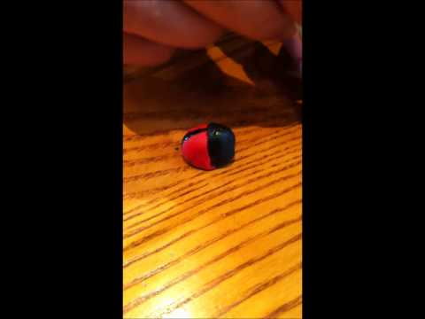 How to make fondant ladybirds clip 3.wmv