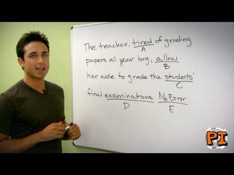 SAT Writing Prep: Grammar, Grammar, Grammar