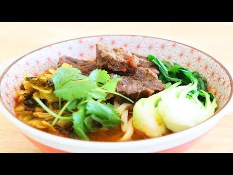 Red Braised Beef Noodles Soup 紅燒牛肉麵 CiCi Li
