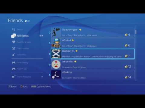 How to Delete Friends on PS4 2018