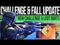 Destiny 2 SEPTEMBER UPDATE amp EXCLUSIVE REWARD Loot BUFF Mars Challenge Banner amp DLC Reveals