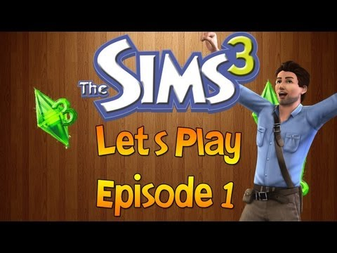 Sims 3 Let's Play - Episode 1 - Starting fresh!