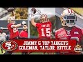 Live 49ers Mandatory Mini Camp Day 1 Robbie Gould Continues As No Show
