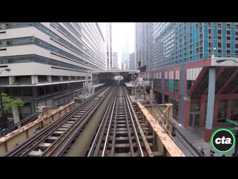 CTA Ride the Rails: Green Line from Harlem to Garfield in Real Time (2015)