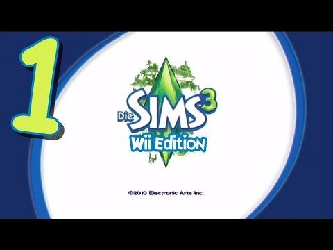 Let's Blabla Die Sims 3 (Wii Edition) - Part 1 - Ein Anton fängt sein Leben an!