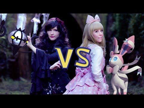 Mysterious Sisters [Live Action Pokémon Battle]
