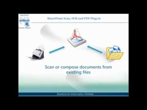 Scan, OCR and PDF Plug-in for SharePoint