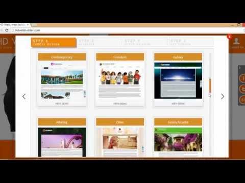 HD Web Builder - Create Website in 4 Simple Steps