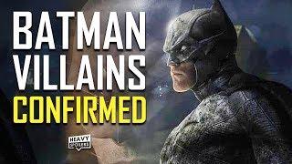 BATMAN 2021 UPDATES: Villains Confirmed, Two-Face, Logo, Fake Batmobile, Andy Serkis, Penguin & More