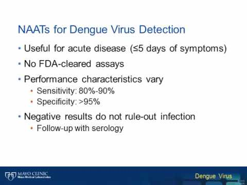 Dengue Virus – A Diagnostic Testing Update [Hot Topic]