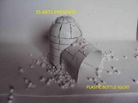 RECYCLED PLASTIC BOTTLE IGLOO