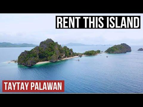 We RENTED an island near El Nido, Taytay Palawan
