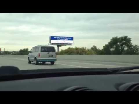 Chevy van, bad front shocks