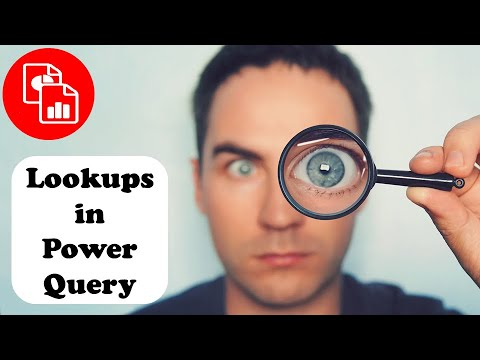 Perform a Lookup with Power Query