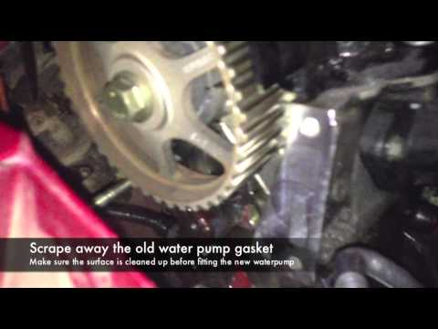 Timing Belt Replacement - Renault Clio 1.2 16v D4F