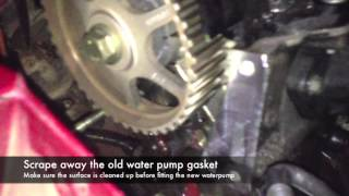 Timing Belt Replacement Renault Clio 12 16v D4f