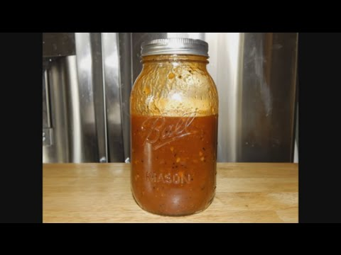 How To Make Barbecue Sauce - Kentucky Bourbon BBQ Sauce Recipe
