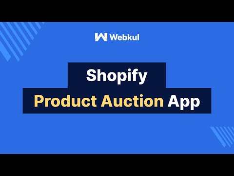 Shopify  Product Auction App