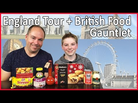 England Tour & British Food Gauntlet : Crude Brothers