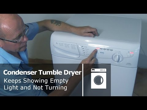 Condenser Tumble Dryer how to replace the pump unit