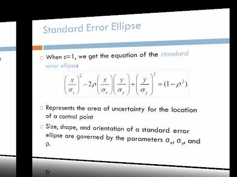 GE 171: Bivariate Normal Distribution and Error Ellipse