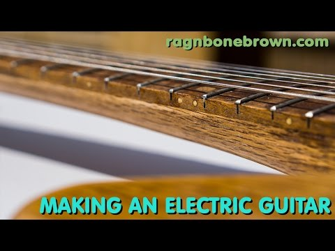 Making An Electric Guitar from Salvaged Oak (part 4 of 9)