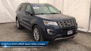 Download 2016 Ford EXPLORER Sport Utility Limited Carthage Watertown Gouverneur Syracuse Utica Video