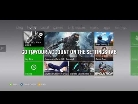 How to check when your Xbox Live runs out (Xbox360 Dashboard)