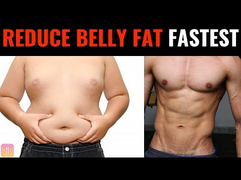 Reduce Belly fat in 1 week | FASTEST WAY