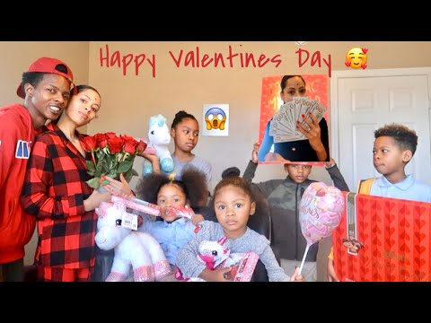 Happy valentine's Day My Loves...... Get Ready With Us