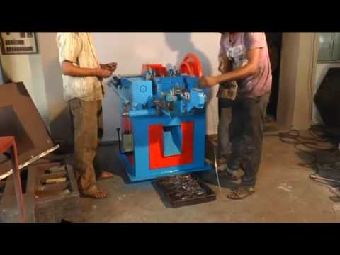 Wire Nail Making Machine By Shree Ramvijay Engineering & Brass Works, Ahmedabad