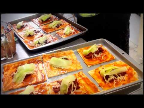 Bacon, Mozzarella, and Cucumber Turnovers