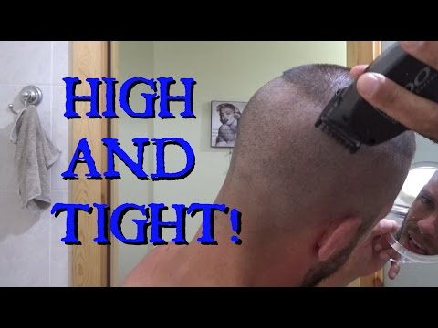 How To Cut Your Own Military High And Tight Recon Haircut