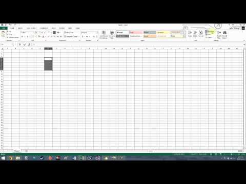 How to Use the Sum Function in Microsoft Excel 2013
